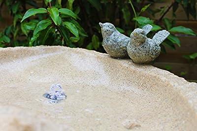 Arnusa LED Quellstein Brunnen LB-105 Springbrunnen Gartenbrunnen Felen mit Beleuchtung von Arnusa bei Du und dein Garten