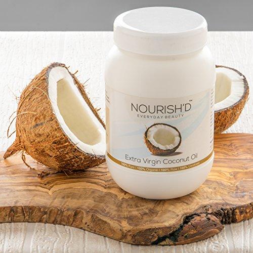 Huile de coco extra vierge (800g) - 100 % brute et certifiée...