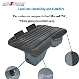 #4: AllExtreme Multifunctional Inflatable Car Mattress for Rest,Traval, Leisure and Entertainment- Car Back Seat Travel Air Inflation Bed Universal SUV Extended Air Couch with Two Air Pillows, Car Air Pump and Repair Kit (Grey)