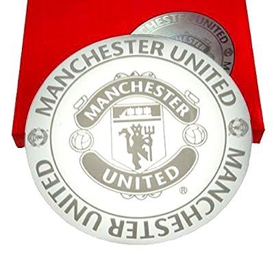 Spiegel mit Manchester United FC Design, geätzt