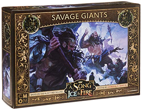 CoolMiniOrNot CMNSIF406 A Song of Ice and Fire Miniaturspiel: Free Folk Savage Giants Expansion, Mehrfarbig -