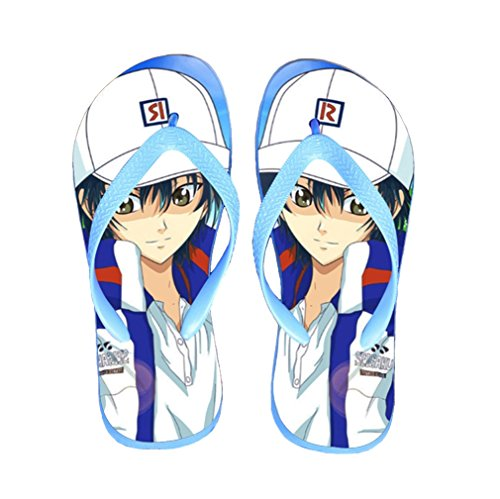 Bromeo The Prince of Tennis Anime Unisex Flip Flops Zehentrenner Flip Pantoffeln 786