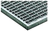 ACO Vario Maschenrost mit V-Stab, Maschenweite (MW) 9/31 mm 1x Gitter-Rost in den Maßen 75x50 cm für außen