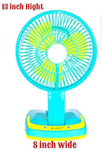 Sanaya JY SUPER 5590 Powerful Rechargeable Fan with 21SMD LED lights