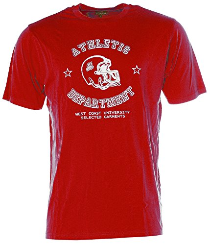 Kitaro Herren T-Shirt -ATHLETIC- Rot