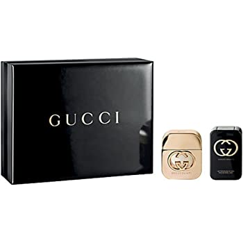 Gucci Guilty Eau De Toilette Spray and Body Lotion Gift Set for Her, 50ml  EDT and 100 Body lotion c38f84772db