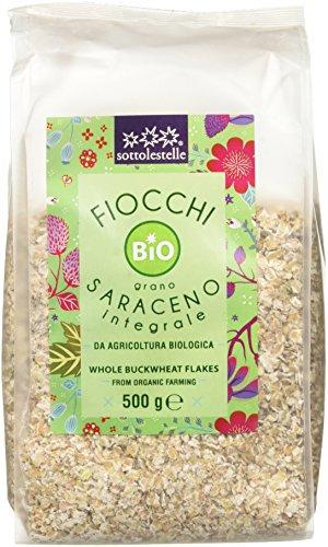Sottolestelle Fiocchi di Grano Saraceno - 8 confezioni da 500gr - Totale 4 kg