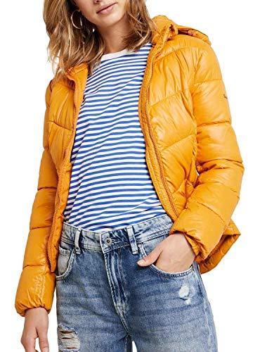 Pepe Jeans Cazadora Imani Mostaza Mujer Large Amarillo