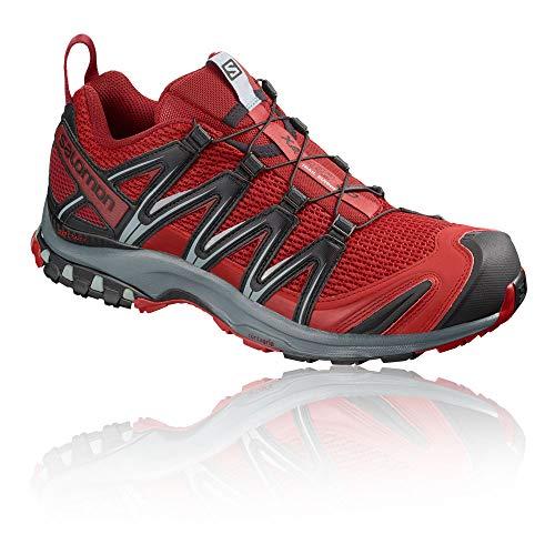 sports shoes 3440d eeb71 Salomon - XA PRO 3D - Chaussures de Trail - Homme - Rouge (Barbados Cherry