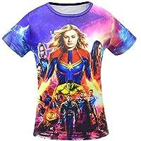 ALAMing Avengers Endgame Four Boy T-Shirt, 150(8-9Years)