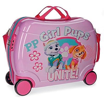 Paw Patrol Girls Pups Equipaje Infantil, 50 cm, 34 litros, Rosa de Paw Patrol