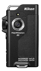 Nikon KeyMission 80 Action Camera, Nero