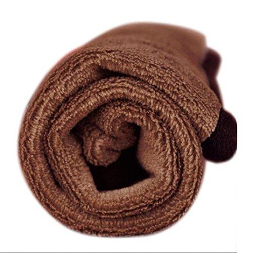 bescita Haustier-Hundewelpen-Katzen-Matten-weiche Vlies-Decke-Bettbezug-Kissen-Auflage (Kaffee) (Pyjamas Schmetterling Pjs)