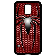 Spiderman Marvel (01) teléfono móvil, plástico, Black Phone Case, samsung galaxy note 2