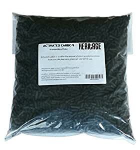 5kg 5000g de charbon actif externe pour aquarium Fish Tank filtre de bassin médias/Poisson Koi eau Dechlorinator Filtres