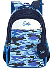 Genie 30 Ltrs Blue Casual Backpack (Indigo)