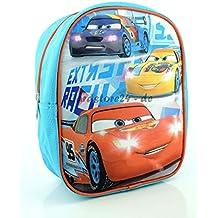 Kids Cars Mochila Guardería, Color Azul