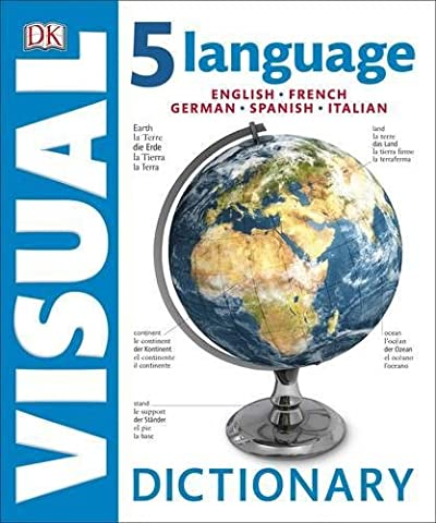 5 Language Visual Dictionary (Dictionaries) (English French Dictionary)