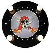 Elobra Deckenleuchte Piratenkopf 4/20 ELO-127117