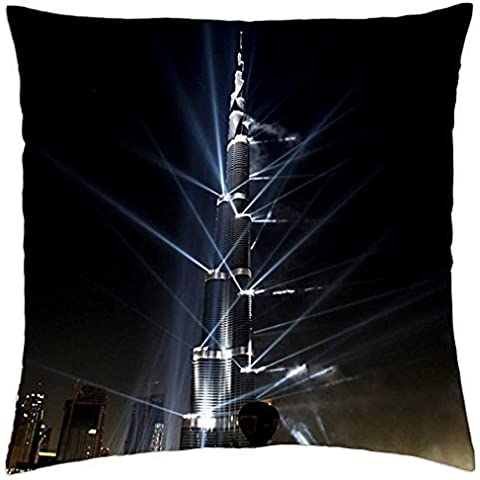 Burj Dubai tower - Throw Pillow Cover