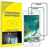 JETech Film de Protection d'écran pour iPhone 8 et iPhone 7 en Verre Trempé, Lot de...