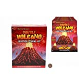 KandyToys Double Volcano Eruption Play Kit