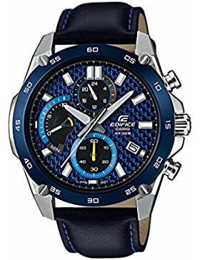 CASIO Unisex Erwachsene-Armbanduhr EFR-557BL-2AVUEF
