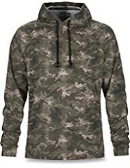 Dakine T-shirt à manches longues Ironwood (Michigan) L/S à capuche Knit, Peat Camo
