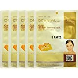 Dermal Gold Collagen Essence Mask(5 Pack)