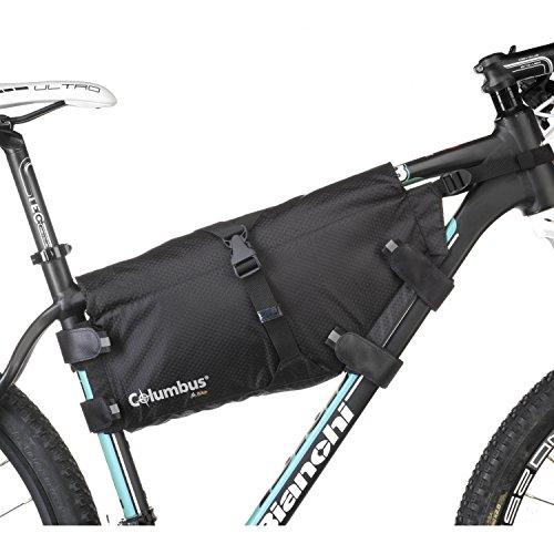 COLUMBUS Roll Frame Bag Borsa per Bicicletta Ciclismo Unisex Adulto, (Multicolore), Taglia Unica