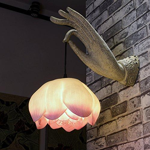 BOOTU lámpara LED y luces de pared Lámpara de pared Budista Zen...