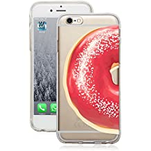 iPhone 66S (4,7pulgadas) funda TPU Donut amantes Donuts transparente case funda iPhone6Iphone6S–Movoja®
