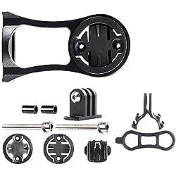 Mein HERZ Portabicicletas de Aleación de Aluminio,Soporte de Bicicleta Modelo de Adaptación para el Soporte del Manillar de la Computadora Garmin Edge/Bryton Rider/GPS/CatEye Bike