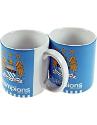 Manchester City Champions 2013/2014 Mug - Official Football Merchandise! by footballsouvenirs