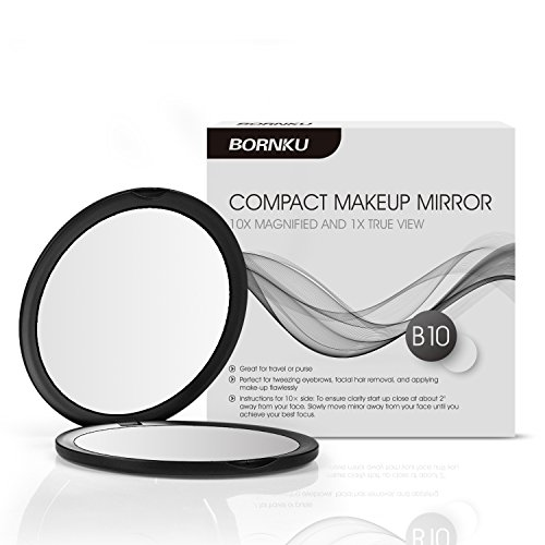bornku-compact-mirror-b10-magnifying-mirror-vanity-pocket-makeup-mirror-double-sided-mirrors-with-10