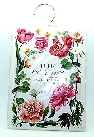 Large 60g Tulip & Peony - Scented Wardrobe Hanger -