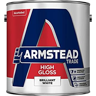 Armstead Trade High Gloss 2.5LBrilliant White