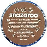 Snazaroo - Pintura facial y corporal, 18 ml, color marrón beige