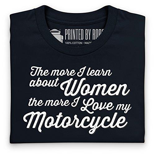 Motorcycles for Men T-Shirt, Herren Schwarz
