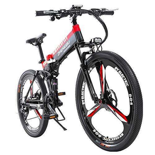 L.HPT Bicicleta montaña eléctrica Bicicleta Plegable