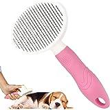 Hundborste, kattborste, husdjursborste, hårborttagare, lämplig för långt och kort djurhår, mjuk borste med skyddsknapp