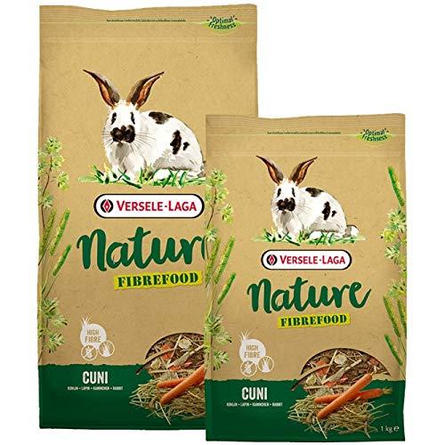 VERSELE LAGA Mélange varié Riche en Fibres Nature Fibrefood Cuni pour Lapins sensibles Sac 2,75 kg