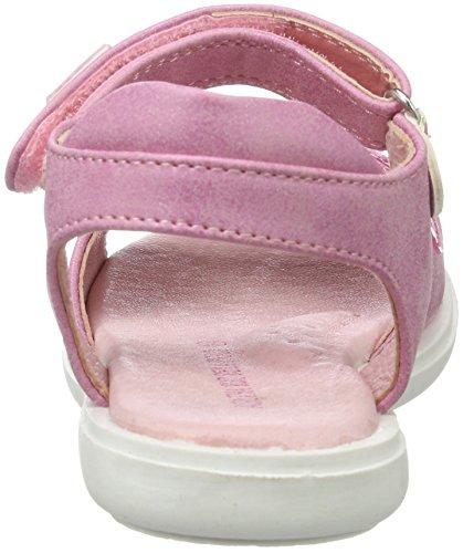 Agatha Ruiz de la Prada 172960, Sandales  Bout ouvert fille Pink (Rosa)