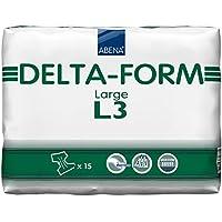 Abena Delta-Form 3 Protections pour incontinence Revêtement en plastique Taille L 3600 ml 100-150 cm
