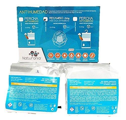 Naturonia Pack 2 Recambios CLASIC Antihumedad, 2x250g