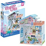 3d Puzzle Doll House Seaside Villa cubicfun p683h 112 Pieces Educational FUN for Girls Best Seller
