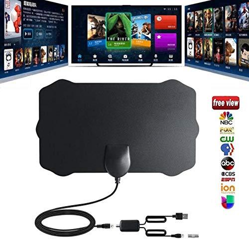 iBaste TV-Antenne, 120 Meilen Reichweite verstärkte Indoor TV-Antenne mit erweitertem Signalverstärker Surf Fox Antena HD TV Antennas Aerial