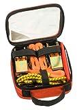 kwb Spanngurt-Set 9-teilig zur Ladungssicherung - inkl. 2 Zurrgurte, 2 Ratschen-Spanngurte mit Haken, 2 Gepäck-Spanner aus Gummi, 1 Warnflagge