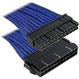 BitFenix Rallonge de câble 24 broches ATX Bleu/noir 30 cm