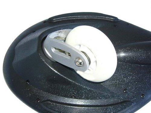 MAXOfit Waveboard Pro Close Mini Fire, bis 129 Kg mit Leuchtrollen und Tasche, 15003 -